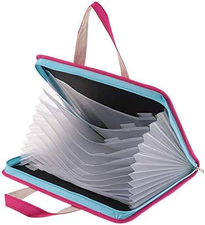 ファイルケース キャリングケース ビジネスバッグ オックスフォード生地 大容量 A4サイズ 全4カラー