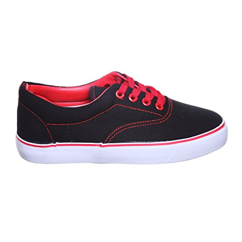 shoewhatever Classic Women Sneakers Black/Red
