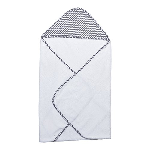 Trend Lab Perfectly Navy Chevron Hooded Towel Bouquet, - Blooming Washcloths Bouquet