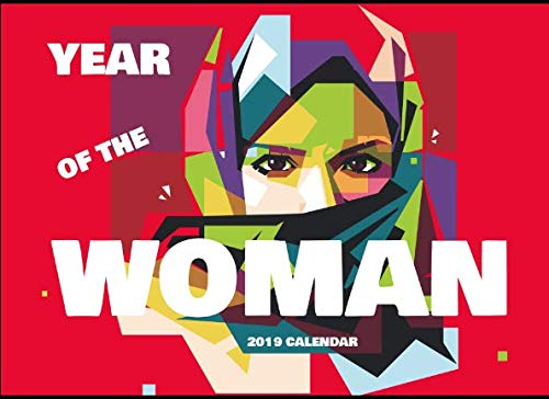 Year Of The Woman: 2019 Desk Calendar Red