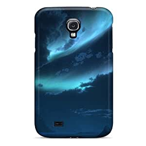 Protective Tpu Case With Fashion Design For Galaxy S4 (antarctica Landscape 3d)