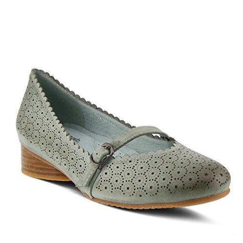 Spring Step Womens Style Gittel Leather Mary Jane Shoe Light Green 0XNlZcuLk