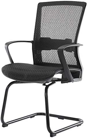 ORVEAY Office Chair Task Computer Desk Ergonomic Lumbar Support Mid-Back Waiting/Conference/Reception Room Furniture