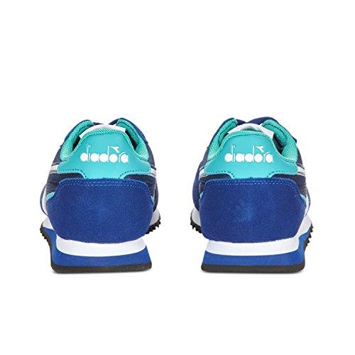 Diadora Women's Malone W Sneaker Low Neck C6471 - BLUE-GREEN PRESS CERAMIC LIGHT ZBFl5w
