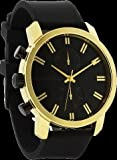 Rockwell Time Men's Apollo Watch, Black/Gold