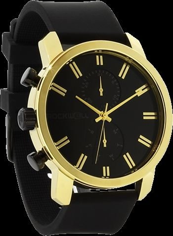 Rockwell Time Men's Apollo Watch, Black/Gold by Rockwell Time