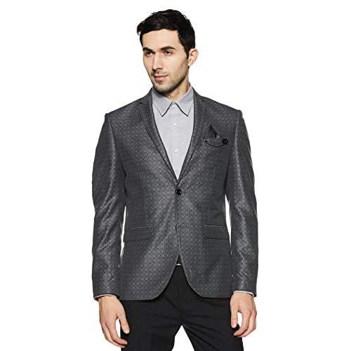 41rCVkuCmHL. SS500  - blackberrys Men's Shawl Collar Slim Fit Blazer
