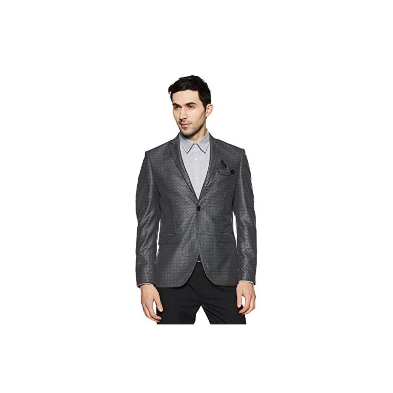 41rCVkuCmHL. SS768  - blackberrys Men's Shawl Collar Slim Fit Blazer