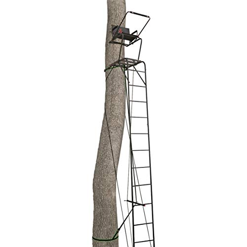 Primal Tree Stands Mac Daddy Deluxe 22' Ladder Tree Stand with Jaw and Truss Stabilizer System ()