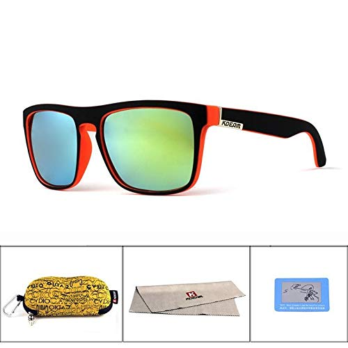8c5d8248c6 SBE Kdeam Square Polarized Sunglasses Men Classic Design All-Fit Mirror  Sunglasses For Mens Womens