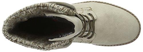 Tom Tailor 1692001, Zapatillas de Estar por Casa para Mujer Blanco - blanco (offwhite)