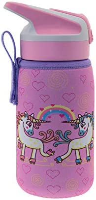Laken Thermo Jannu Insulated Stainless Steel Kids Water Bottle Wide Mouth NEW