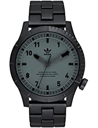 Watches Cypher_M1. Mens 3 Link Solid Stainless Steel Bracelet, 22mm Width (Black/. adidas