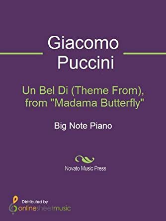 "Un Bel Di (Theme From), from ""Madama Butterfly"" - Kindle"