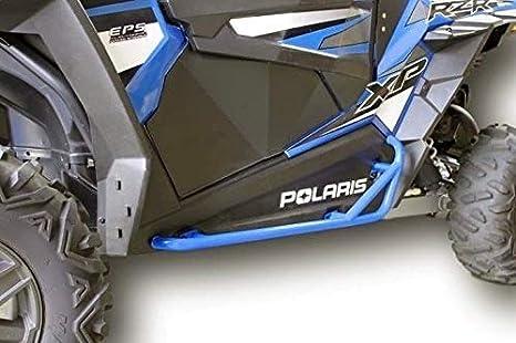Polaris RZR 900 Trail, 900S, 1000S, XP1000, Turbo, Nerf bares Rock Sliders - azul color...: Amazon.es: Coche y moto