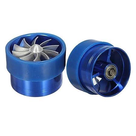 Potente Alimentazione dellAria Tubo di Ingresso Aria Universale Presa supplementare kaakaeu Ricambio del Motore dellauto Ventilatore Singolo
