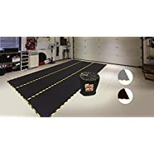 Just Suk It Up, Garage Mat, All-Season Full-Floor Size, 8FT x 14FT, Black (also available in Brown and Grey colors)