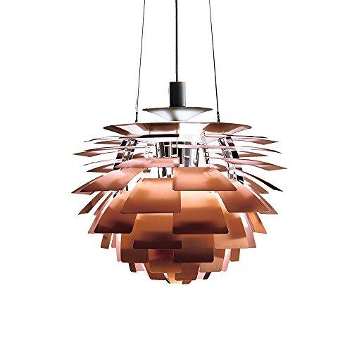 Artichoke Copper Pendant Light - 5