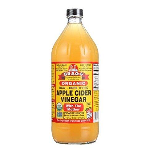Bragg Usda Organic Raw Apple Cider Vinegar, 32 Fluid Ounce - Bragg Organic Apple Cider Vinegar