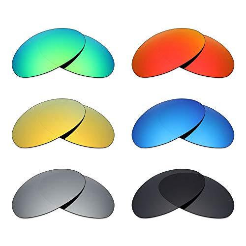 Hielo cristal Romeo 1 Titanio Quilates Polarizadas Color De 24 Rojo Y Oro Plata Oakley Verde Lentes Sol Azul Mryok Negro Para Esmeralda Repuesto xZfwY4Kq8