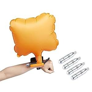 ... brazalete de rescate de emergencia hinchable de seguridad airbag natación surf dispositivo de autorescate flotador pulsera (amarillo): Amazon.es: ...