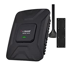 weBoost Drive 4G-X Cell Phone Signal Booster for Car, Truck, and RV Use – Enhance Your Signal up to 32x. Can Cover up to 4 Devices.