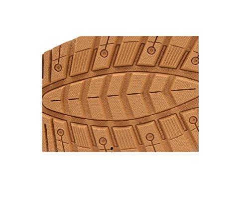 Scarpe Casual Scarpe Morbido Scarpe Punta Traspirante Lazy Black Uomo Testa Chic Oxford Rete A Scarpe Tonda Fondo qEcprdp