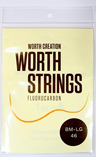 Worth Premium Package Concert/Soprano 23''/21'' Ukulele String Brown Color with #4 ()