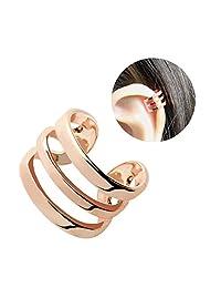 Minimalist No Piercing Ear Cuff Earrings Best Friend Jewelry Gift Wrap Earrings Fake Piercing Cartilage Earrings - EFTC