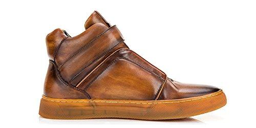 Men's NEWYORK Sneaker Fashion US Tan Scully D Top JUMP High 10 A5gwqxAd