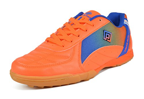 - DREAM PAIRS Big Kid 160470-K Orange Royal Athletic Soccer Shoes - 6 M US Big Kid