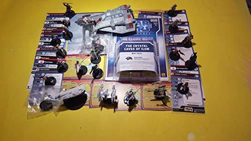 10 Star Wars Minature Figure Minis Grab Bag SW