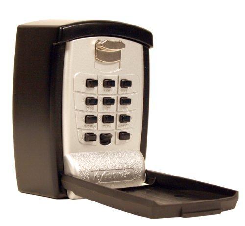 KeyGuard SL-590 Punch Button Key Storage Wall Mount Lock Box - 3 Pack
