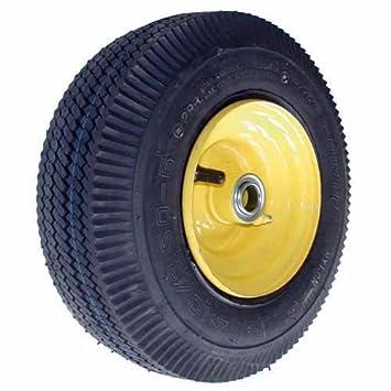 Rueda Frontal para cortacésped con asiento - Ø: Ext: 270 mm, orificio: 19,05 mm: Amazon.es: Bricolaje y herramientas