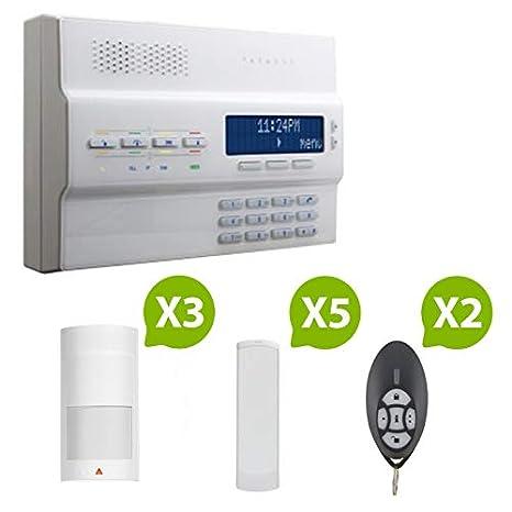 Alarma GSM inalámbrica MG 6250 Paradox Magellan-GSM-Kit de 5 ...