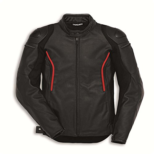 Ducati Stealth Perforated Leather Jacket product image