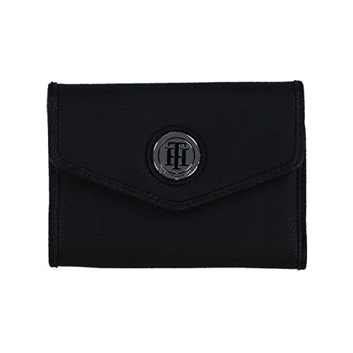 Tommy Hilfiger Womens Trifold Wallet (Black)