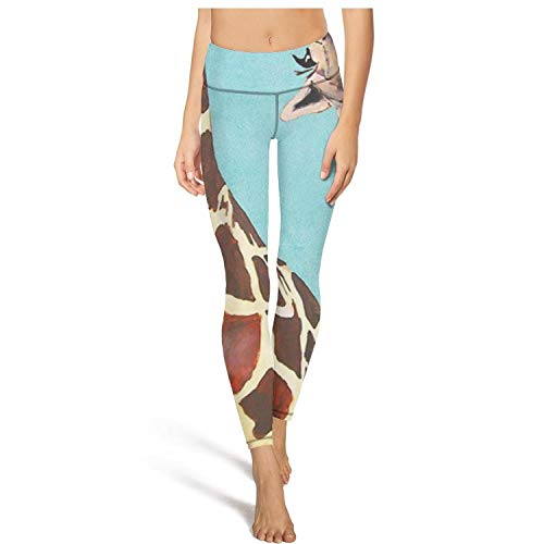 Pants Naughty (HJKUYYKGFHCB with Pocket Cute Giraffe Naughty High Waisted Yoga Pants for WomensFitnessClassic)