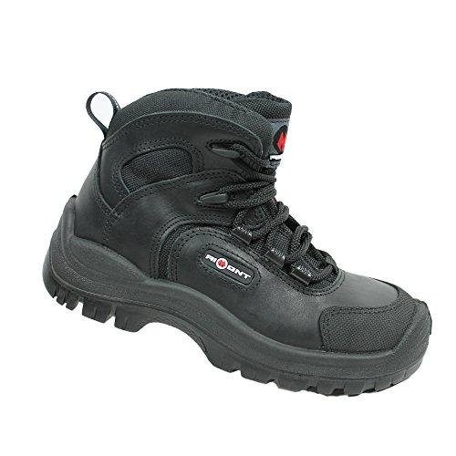 Aimont - Chaussures De Sécurité En Cuir Pour Les Hommes, Blanc, Taille 40 Eu