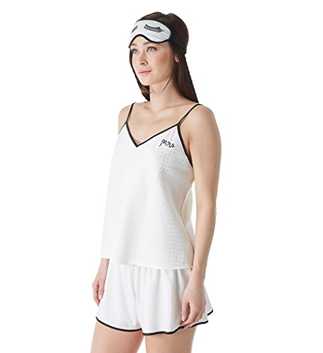 Kate Spade New York Bridal Camisole Tap Set with Matching Eyemask (KS71536) L/Off (Bridal Camisole)