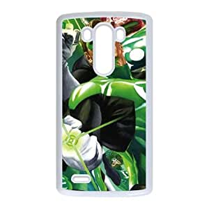 Green Lantern Rings LG G3 Cell Phone Case White phone component RT_272634