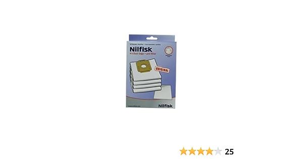 Nilfisk 1470416500 - Bolsa para aspiradora con prefiltro: Amazon.es: Hogar