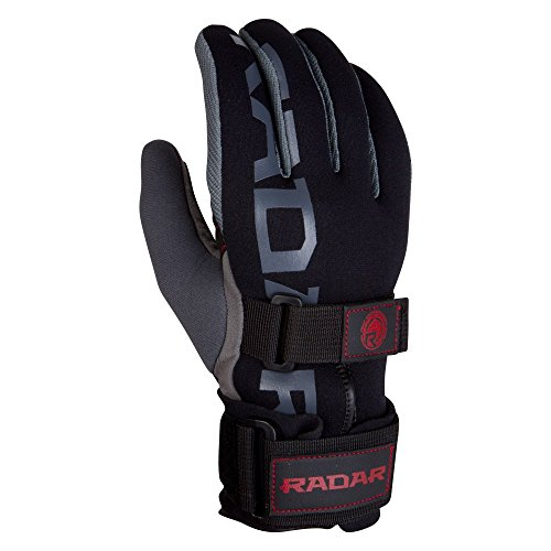 Radar World Tour Glove - Black/India Red