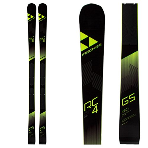 Fischer RC4 Worldcup GS Jr. Junior Race Skis - 155cm ()