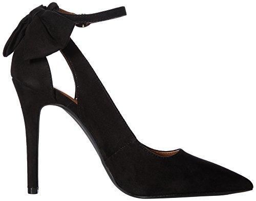 Qupid Women's Pointy Toe Pump Black g4xRs