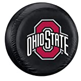 Fremont Die NCAA Ohio State Buckeyes Tire Cover, Large Size (30-32' Diameter)