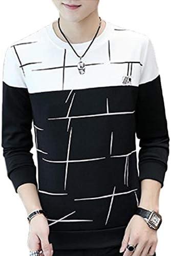 [レリカ] デザイン ロゴ トレーナー カジュアル トップス 長袖 メンズ