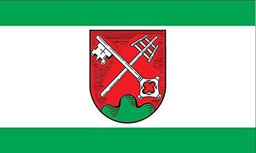 U24Drapeau du Petersberg (Hesse) haute qualité pour bateau drapeau 100x 150cm