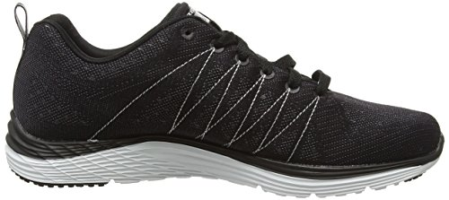 Skechers 12224 - Zapatillas Para Mujer Negro (Bkw)