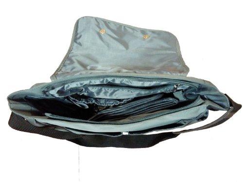 Pirulos 47100035  - Bolso, 32 x 14 x 31 cm, color negro Gris